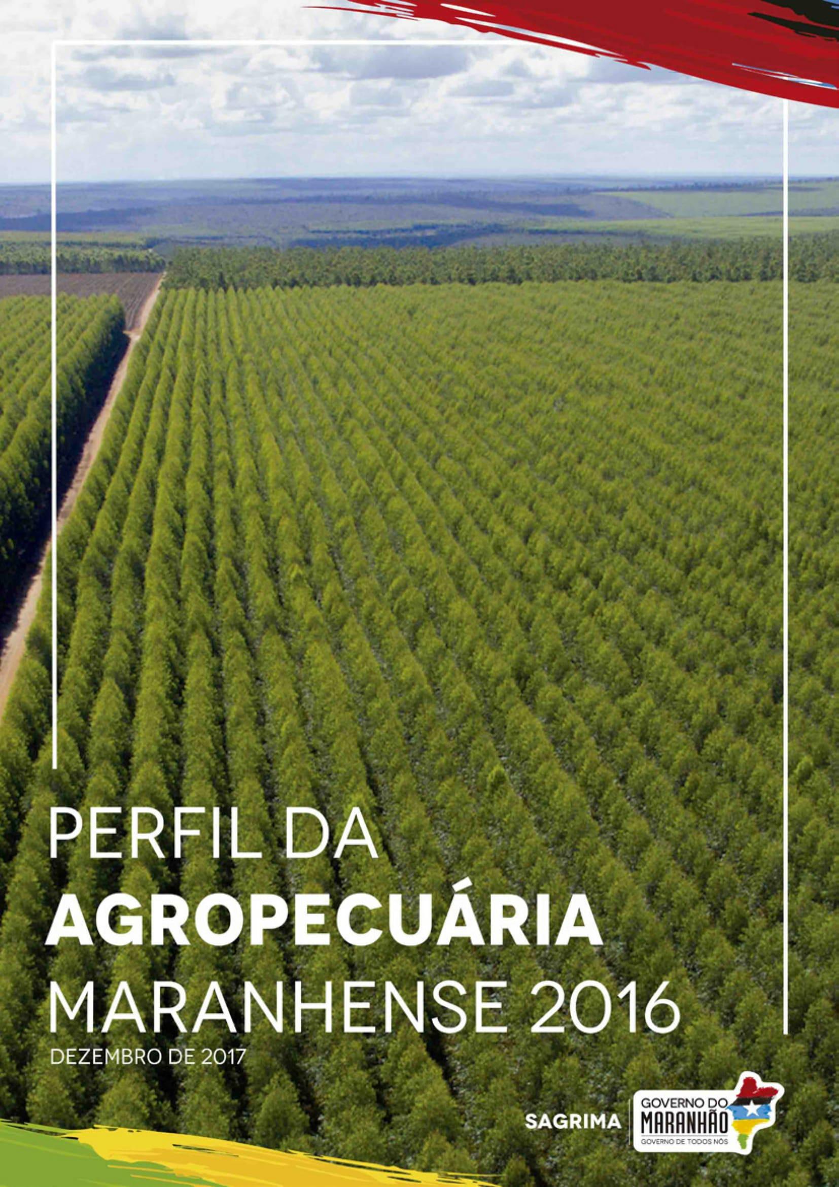 PERFIL DA AGRICULTURA 2016-01